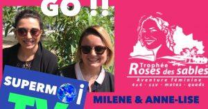 Read more about the article Milene et Anne-Lise deux infirmières de Vannes vont vivre l'aventure du Trophée Rose des Sables